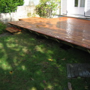 Terrasse bois Garapa, Carquefou