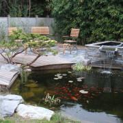 Bassin et jeu d'eau, Saint Herblain