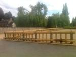 Barrières traditionnelles japonaises en bambou, La Gacilly