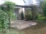 Terrasse en pierre, grès et schiste, paysagiste Herbignac