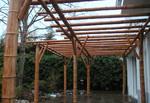 Pergola en bambou, paysagiste Saint Herblain