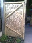Panneau décoratif en bambou, Paysagiste Vertou