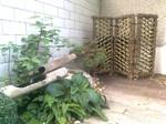 Treillage en bambou, panneau traditionnel japonais, sode gaki, Paysagiste Vertou