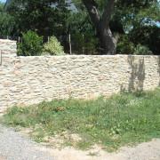 paysagiste, mur, pierre, naturelle, granit, mesquer, quimiac