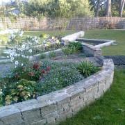 paysagiste, plante, vivace, muret, pierre, seche, naturelle, mesquer, quimiac