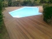 Terrasse,bois,paysagiste,Le Pouliguen