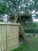 Terrasse,bois,paysagiste,abri,jardin,Sautron