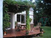 Terrasse,bois,paysagiste,Thouaré sur Loire
