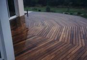 Terrasse,bois,paysagiste,Pénestin