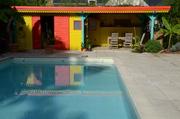 Abri,piscine,bois,paysagiste,Guérande
