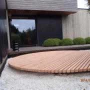 terrasse, bois, paysagiste, guérande