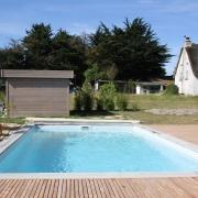 plage, piscine, terrasse, bois, paysagiste, saint lyphard