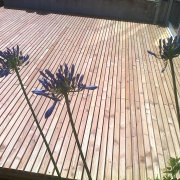 terrasse, bois, paysagiste, saint nazaire