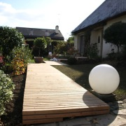 terrasse, bois, paysagiste, la chapelle sur erdre