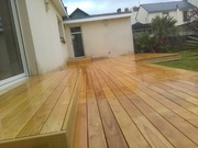 terrasse bois robinier faux acacia nantes