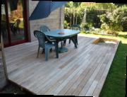 terrasse bois robinier faux acacia herbignac