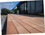 terrasse bois robinier faux acacia la turballe